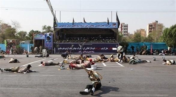 هجوم الأهواز في إيران (أرشيف)