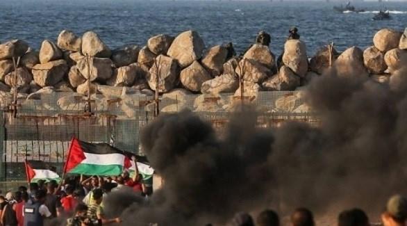 مسيرة بحرية في قطاع غزة (أرشيف)
