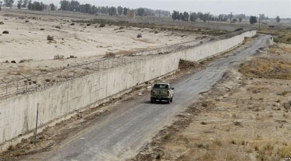 دورية عسكرية على الحدود الإيرانية الباكستانية (أرشيف)