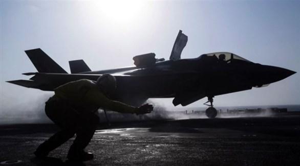 مقاتلة أمريكية تستعد للإقلاع (أرشيف)
