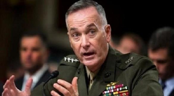 رئيس هيئة الأركان المشتركة الأمريكية الجنرال جو دانفورد (أرشيف)