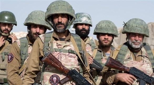 عناصر من قوات الفيلق الخامس السوري (أرشيف)