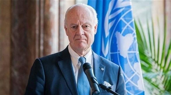 مبعوث الأمم المتحدة الخاص إلى سوريا ستافان دي ميستورا (أرشيف)