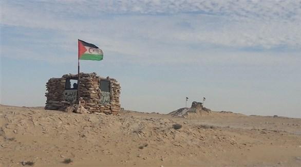 نقطة عسكرية لجبهة بوليسارو في الصحراء الغربية (أرشيف)
