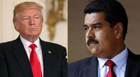 الرئيس الأمريكي ترامب ونظيره الفنزويلي مادورو (أرشيف)