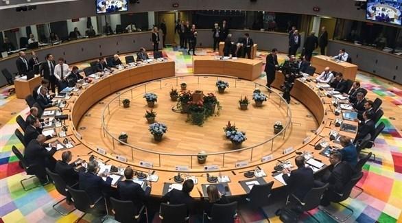 اجتماع قادة أوروبا في بروكسل (أرشيف)