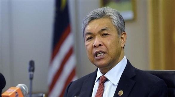 نائب رئيس الوزراء الماليزي السابق أحمد زاهد حميدي (أرشيف)