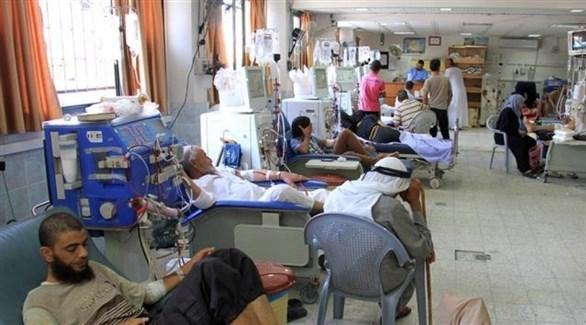 مرضى كلى في أحد مستشفيات غزة (أرشيف)