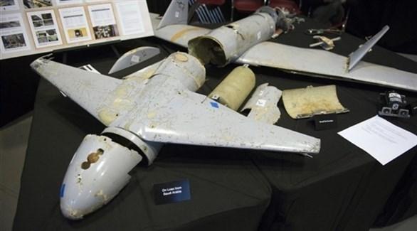 طائرة مسيرة حوثية (المصدر)