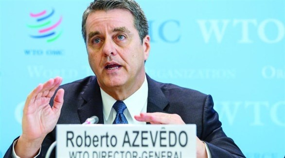 المدير العام لمنظمة التجارة العالمية روبيرتو أزيفيدو (أرشيف)