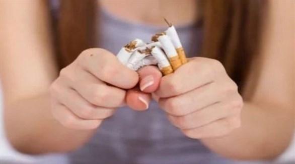 يتأثر التنفس حتى لو تم تدخين سيجارة واحدة (تعبيرية)