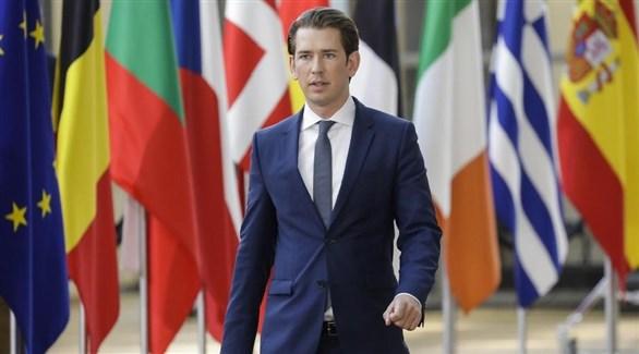 رئيس الدورة  الحالية للاتحاد الأوروبي المستشار النمساوي سباستيان كورتس (أرشيف)