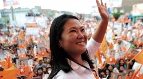 زعيمة المعارضة في بيرو  كيكو فوجيموري (أرشيف)