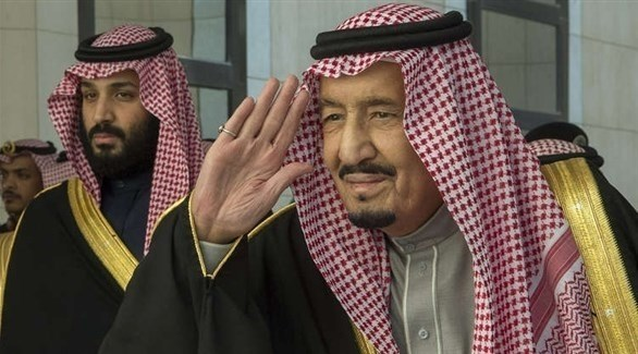 العاهل السعودي الملك سلمان بن عبدالعزيز وولي عهده الأمير محمد بن سلمان (أرشيف)