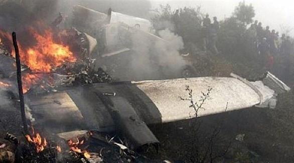 تحطم سابق لطائرة حربية روسية (أرشيف)