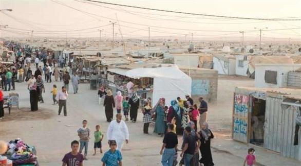 مخيم للاجئين السوريين في الأردن (أرشيف)