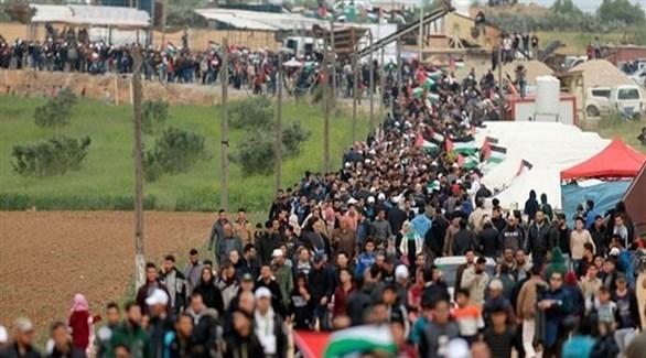 مسيرات العودة في قطاع غزة (أرشيف)