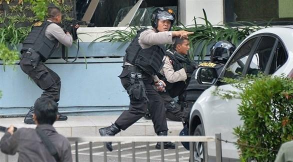 شرطة إندونيسية (أرشيف)
