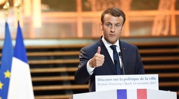 الرئيس الفرنسي، إيمانويل ماكرون (أرشيف)