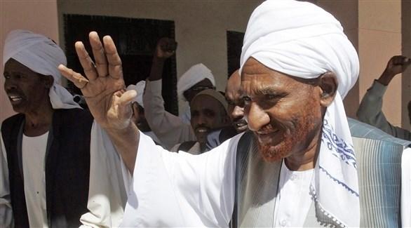 زعيم المعارضة السوداني الصادق المهدي (أريشف)