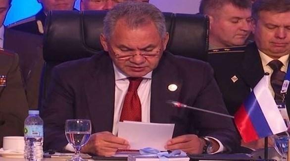 وزير الدفاع الروسي سيرجي شويجو (أرشيف)