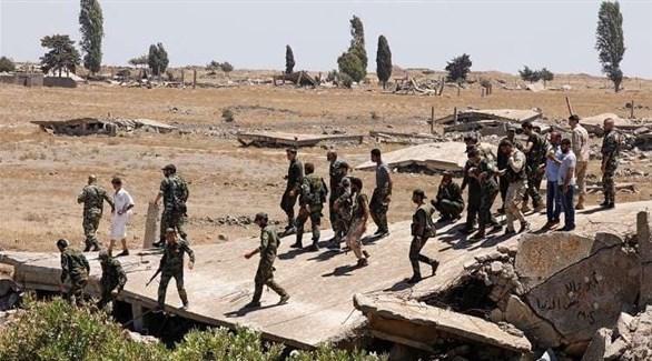 عناصر من قوات النظام (أرشيف)