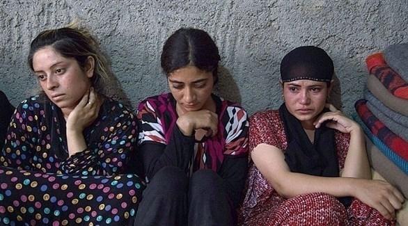 مختطفات لدى تنظيم داعش الإرهابي (أرشيف)
