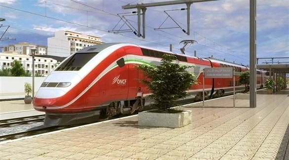 أحد القطارات السريعة في المغرب (أرشيف)