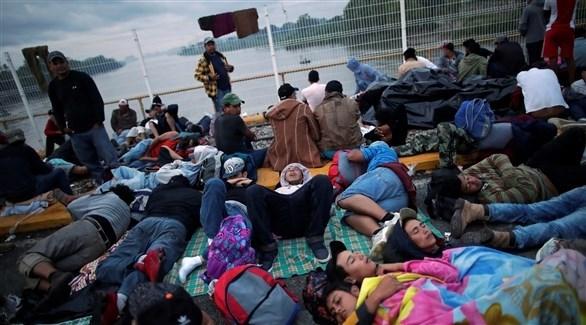 مهاجرون من هندوراس إلى أمريكا (أرشيف)