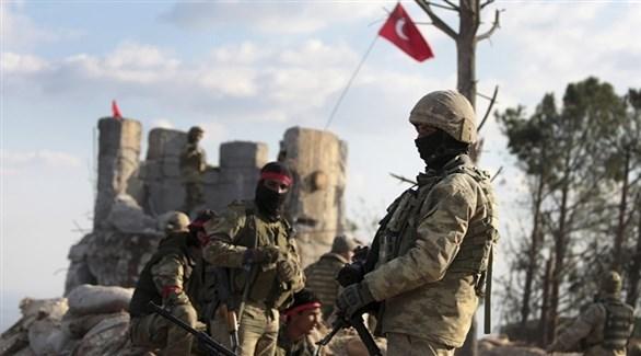 قوات تركية في عفرين (إ ب أ)