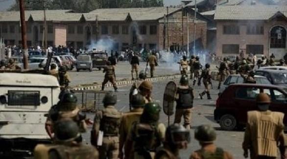 اشتباكات بين الشرطة والمتمردين في كشمير (أرشيف)