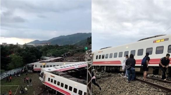 انقلاب قطار في تايوان (أرشيف)