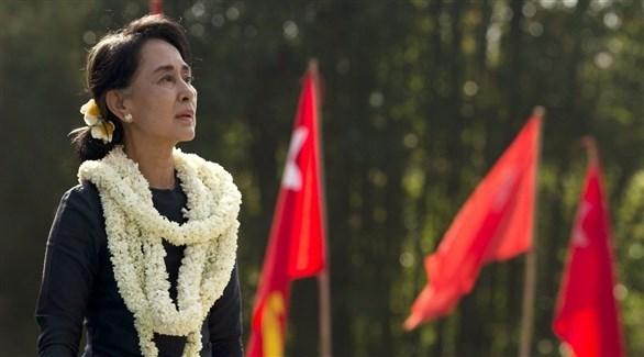 زعيمة ميانمار أونغ سان سو كي (أرشيف)