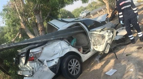 جانب من الحادث (من المصدر)
