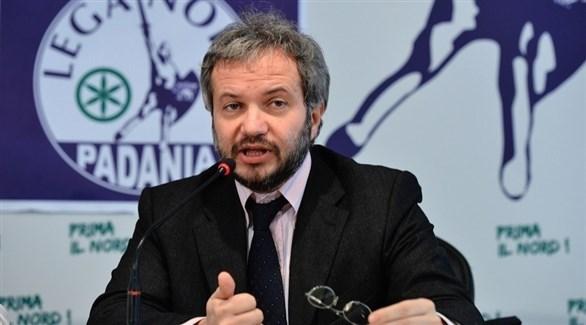 عضو الائتلاف الحاكم الشعبوي في إيطاليا كلاوديو بورجي (أرشيف)