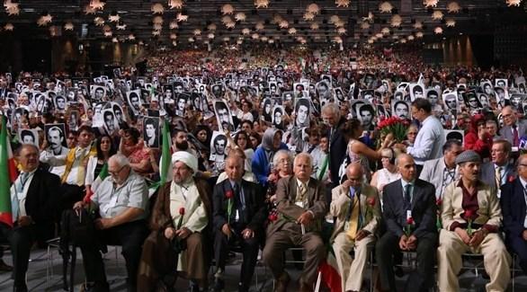 مؤتمر سابق لحركة خلق الإيرانية المعارضة في باريس (أرشيف)