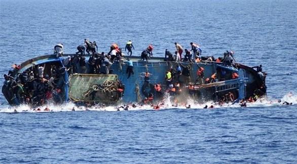 غرق سفينة مهاجرين (أرشيف)