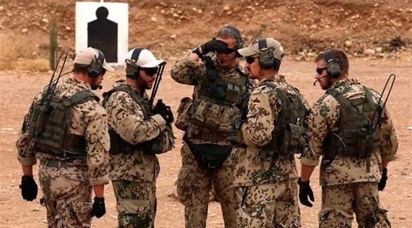 عناصر من الجيش الألماني في العراق (أرشيف)