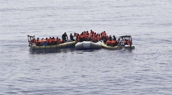 مهاجرون في عرض البحر (أرشيف)