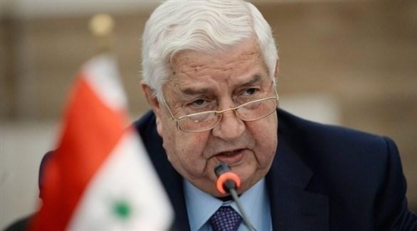 وزير خارجية النظام السوري وليد المعلم (أرشيف)