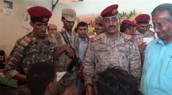 رئيس هيئة الأركان العامة في الجيش اليمني اللواء الركن طاهر العقيلي (أرشيف)
