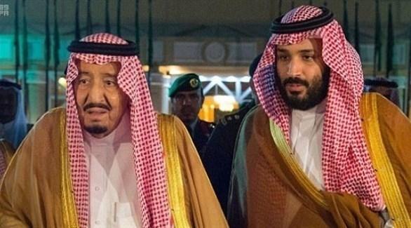 الملك سلمان بن عبد العزيز وولي العهد محمد بن سلمان (أرشيف)