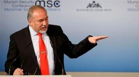 وزير الدفاع الإسرائيلي أفيغدور ليبرمان (أرشيف)