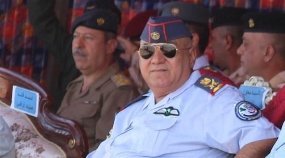 رئيس أركان القوة الجوية العراقية اللواء الركن طيار محمد منشد (أرشيف)