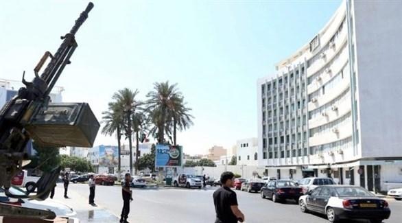 مسلحون في وسط طرابلس (أرشيف)