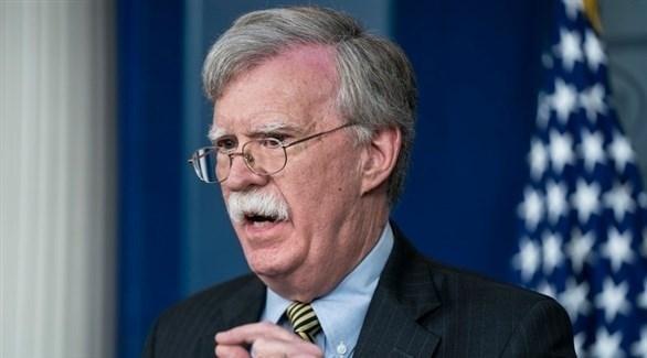 مستشار الأمن القومي الأمريكي جون بولتون (إ ب أ)