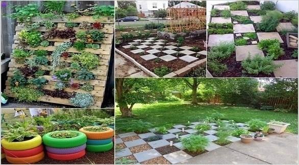 أفكار خارجة عن المألوف لتزيين الحديقة المنزلية (أميزنغ إنيرير ديزاين)