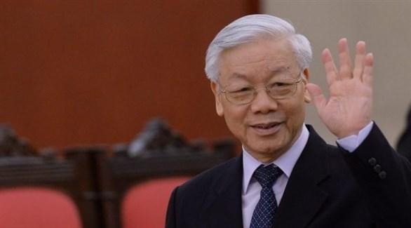 رئيس فيتنام الجديد نجوين فو ترونغ (أرشيف)