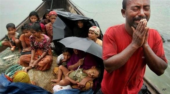 تهجير لمسلمي الروهينجا على يد جيش ميانمار (أرشيف)