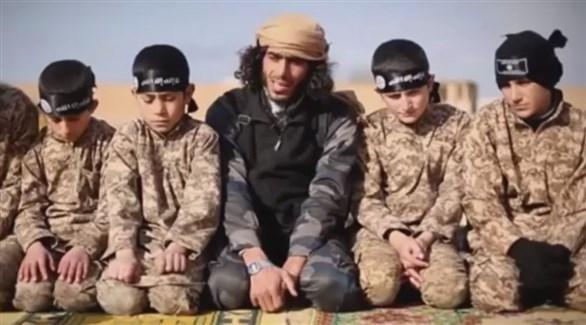 أطفال مجندون في تنظيم داعش (أرشيف)